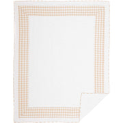 Jenna Buffalo Tan Check Twin Quilt 68Wx86L