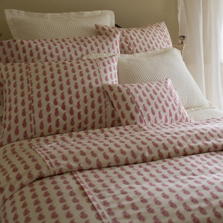 Paisley Red Duvet