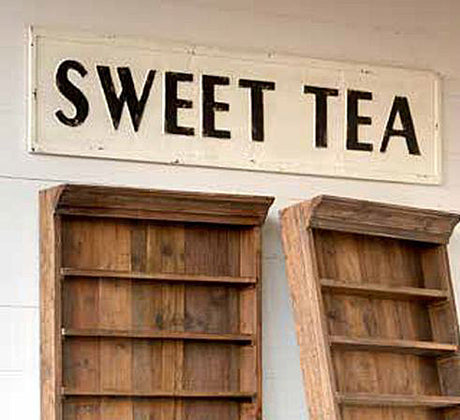 Vintage Metal SWEET TEA Sign by Park Hill Collection