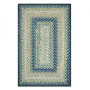 WEDGEWOOD BLUE JUTE Braided Rug