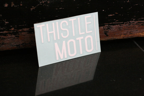 THISTLE MOTO® Decal