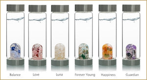 Gemstone water ROCKS! Which one is your favorite blend?