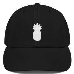 """Pineapple"" Embroidered 6 Panel SnapBack Hat - Various Color & Sizes"