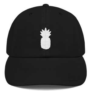"""Pineapple"" Embroidered Unstructured Dad Hat"