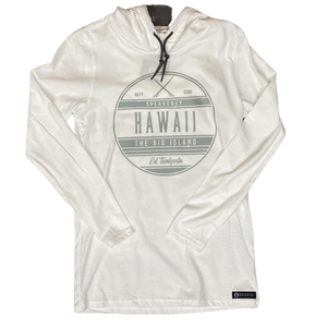 """Surf Club"" Lightweight Long Sleeve Hooded T-Shirt"