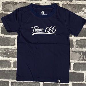 "Toddler ""Future CEO"" Premium PolyCotton Tee - Various Colors"