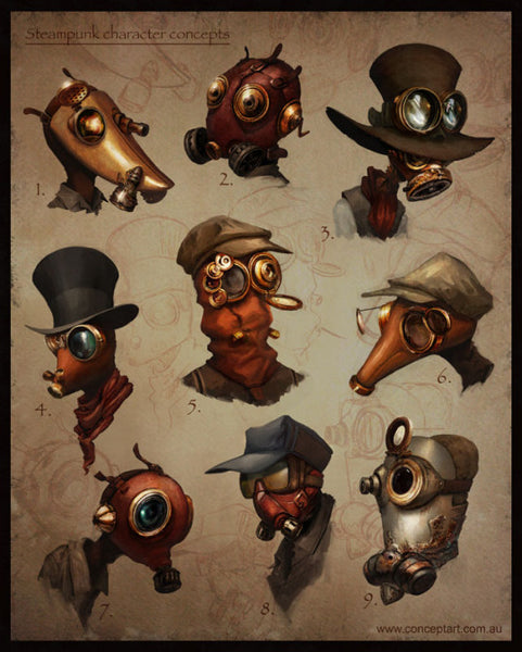 steampunk gotiska mode