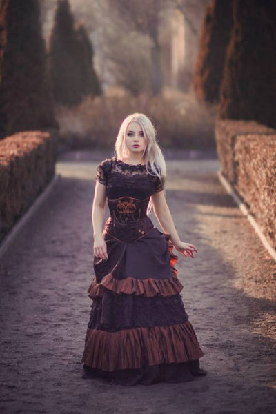 steampunk gothic fashion