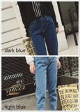 80 'Retro Simple Boyfriend Jeans - Lupsona
