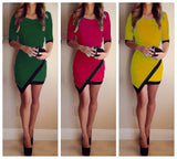 women new fashion mini party casual dress - Lupsona