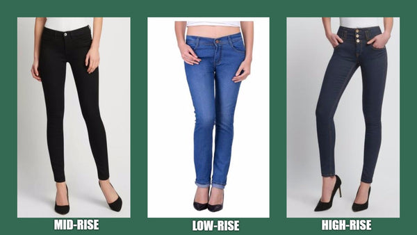 Different types of Women Denim jeans to wear