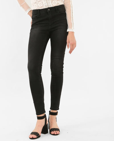 Women's Push up Skinny Black Jeans - Pimkle  - mydenimstore