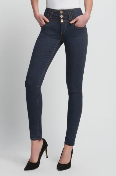 Highwaist Skinny Women's Dark Blue Jeans - Orsay - mydenimstore