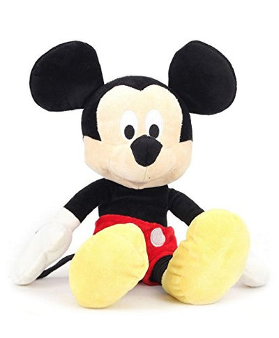 Disney Mickey Plush Soft Toy , Multi Color (12-inch)