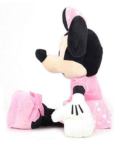 Disney Minnie Plush Soft Toy , Multi Color (12-inch)