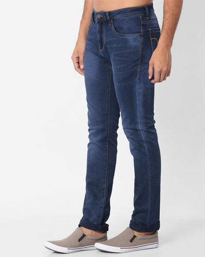 Flying machine Mid-Rise Michael Men's Blue Jeans
