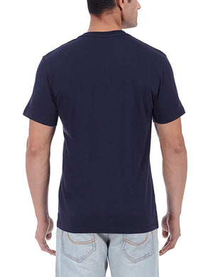 Jimi Hendrix Men's Round Neck Navy T-Shirt - mydenimstore