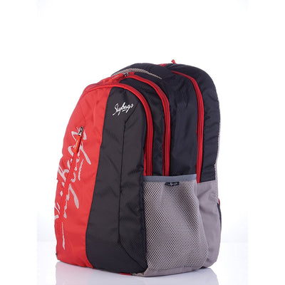 Skybags Neon Backpacks (Red)