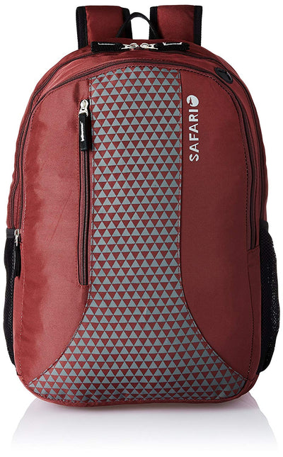 Safari 25 Ltrs Wine Casual Backpack (PYRAMID WINE)