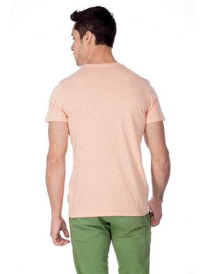 Asterix Men's Round Neck Orange T-Shirt - mydenimstore