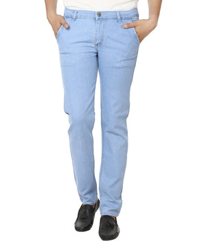 Club Vintage Slim Men's Light Blue Jeans - mydenimstore