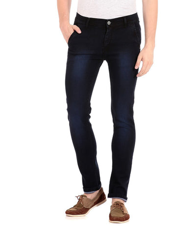 Flyjohn Blue Slim Fit Men's Jeans- mydenimstore