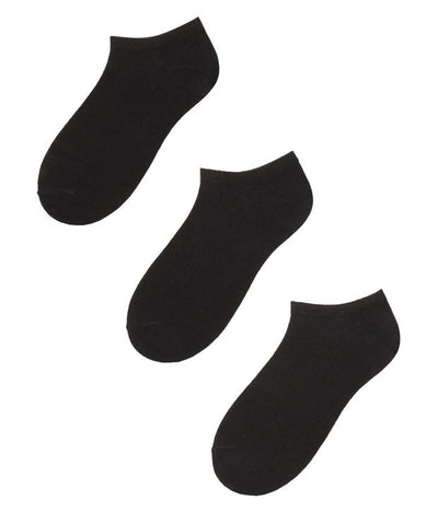 Klair Women's Solid Ultra Low Cut Socks (Pack of 3) - mydenimstore