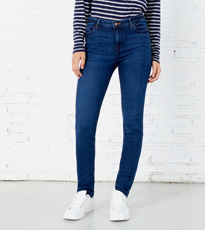 Women's Push up Skinny Dark Blue Jeans - Springfield- mydenimstore