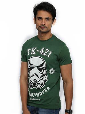 Star Wars Men's Round Neck Cilantro T-shirt - mydenimstore