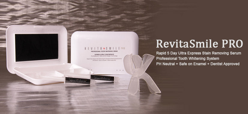 Revitasmile Quick Teeth whitening professional dental smile