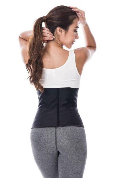 women modeling a waist trainer for casual look