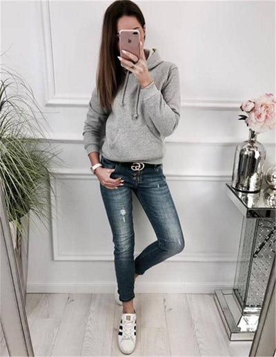 Autumn 2 Piece Set Casual Women Tracksuit Set
