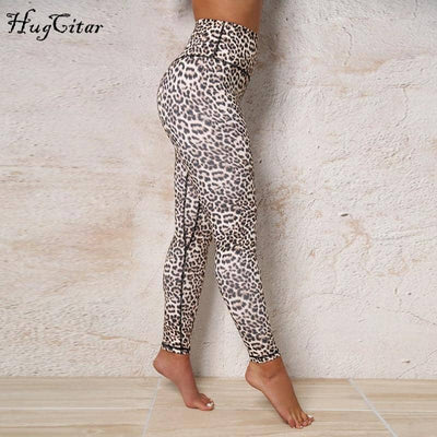 High Waist leopard Sexy Butt Lift Leggings
