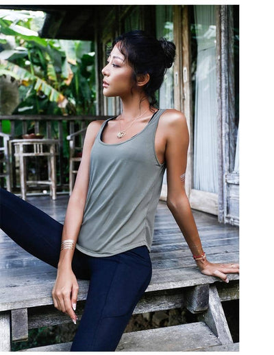 Breathable Sexy Backless Sport Yoga Top
