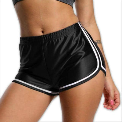 VEGAN BOOTY Fitness High Waist Body-con Shorts