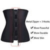 Zipper Corset Body Shaper Latex Waist Trainer