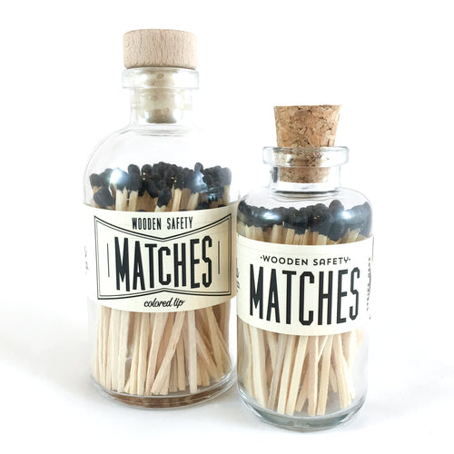 Vintage Apothecary Black Matches