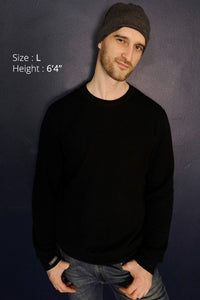 bamboo sweater for tall men