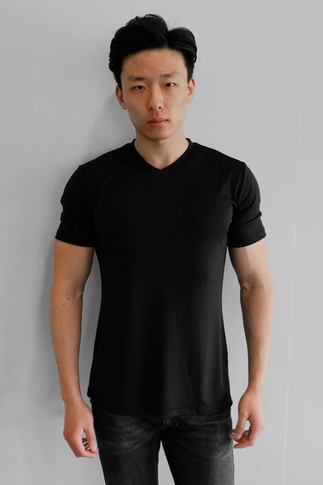 Breathable Recycled Plastic V-Neck Shirt