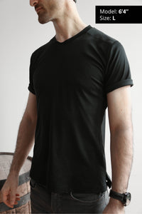 slim fit t-shirt for tall men