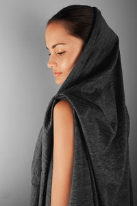 versa throw - merino wool convertible travel wrap