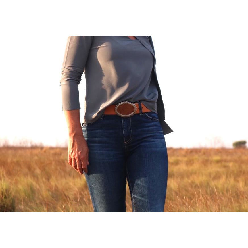 Concrete Cowgirl Belt - LONGRASS STYLE