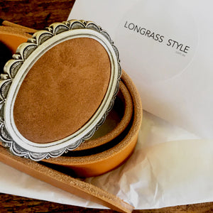 Load image into Gallery viewer, Concrete Cowgirl Belt - LONGRASS STYLE
