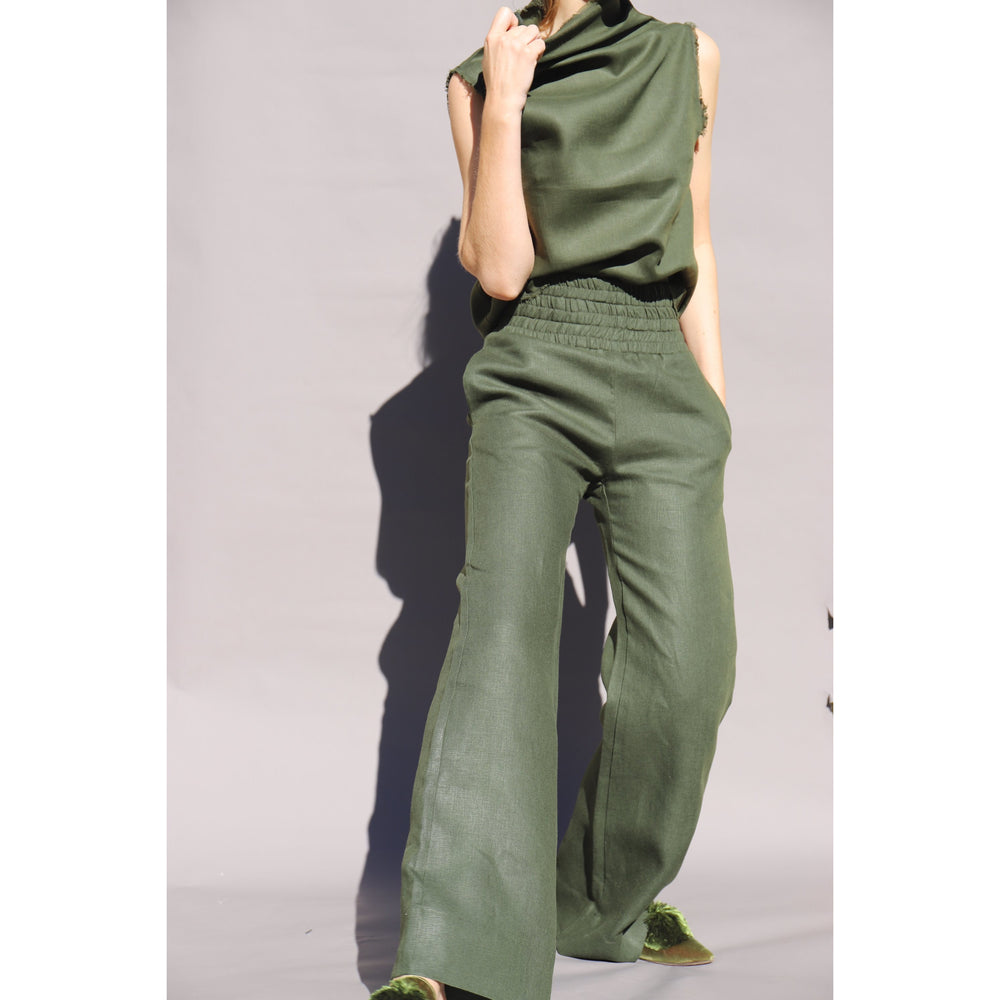 Load image into Gallery viewer, SAFARI Olivia Palazzo Pant - LONGRASS STYLE