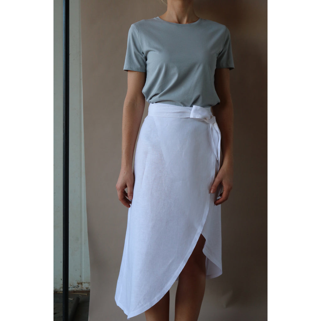 Picnic Wrap Skirt - SALE $150 discounted to $95 - LONGRASS STYLE
