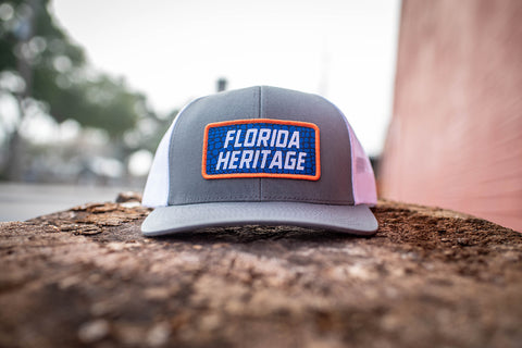 Florida Heritage Hat - Gator Patch