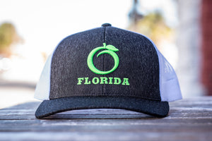 Florida Heritage Hat H.Black/Green/White