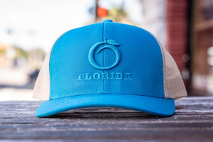Florida Heritage Hat Blue/Blue/Cream