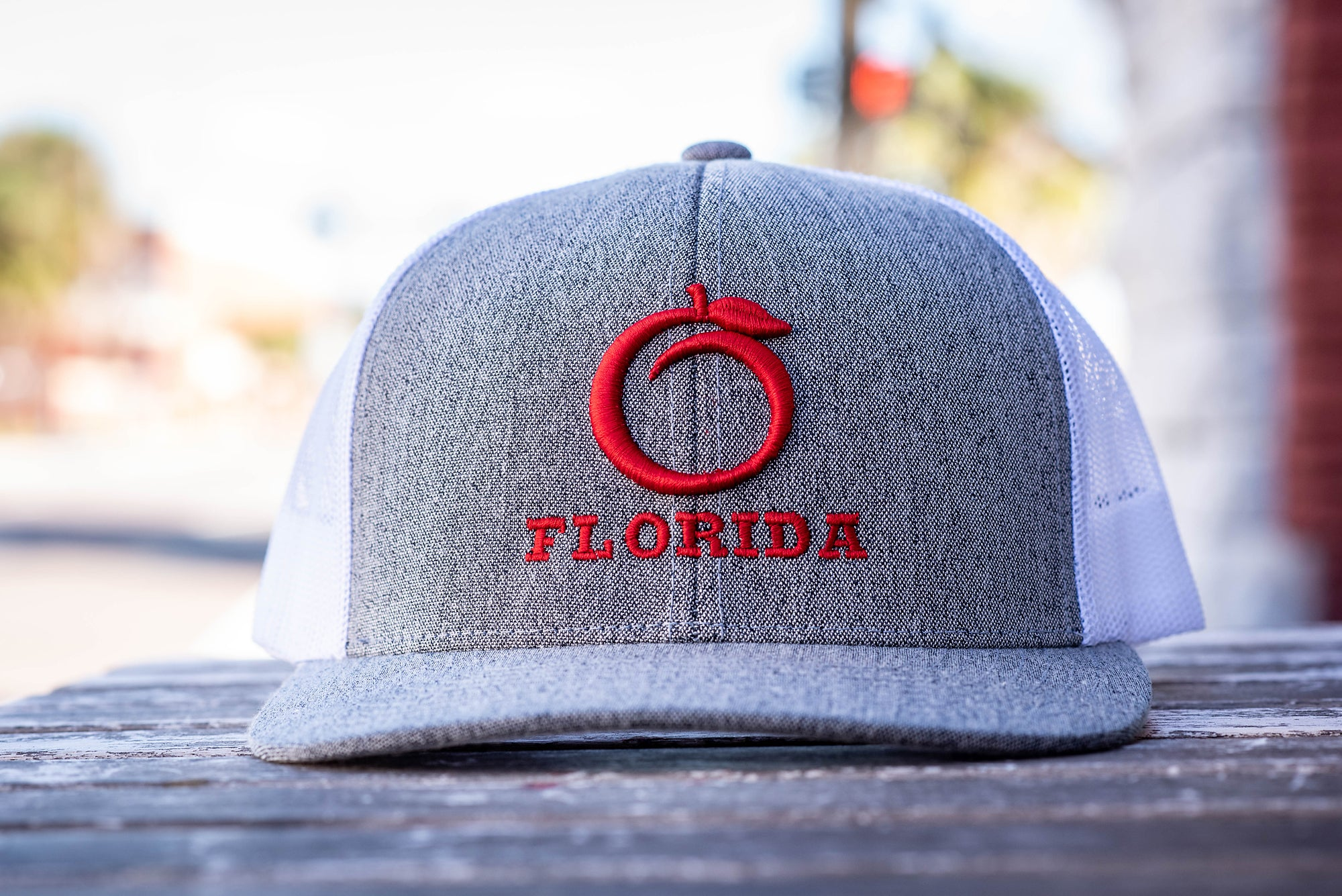 Florida Heritage Hat H.Gray/Red/White