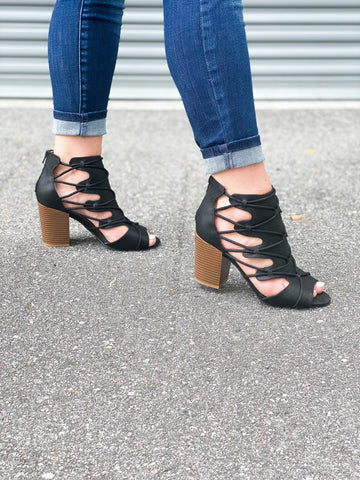 Shania Booties - Black